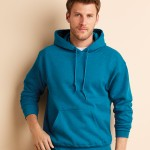 turquoise hoodie