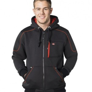 Lee Cooper Zip Hooded Workwear Jacket