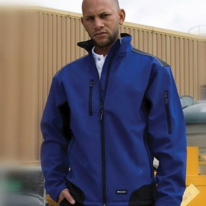 Result Ripstop Work-Guard Soft Shell Jacket