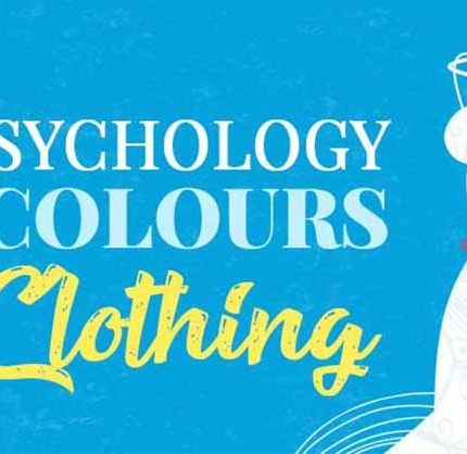 Colours in clothing banner